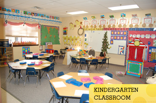 Transitional Kindergarten Classroom
