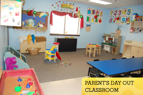 Parents Day Out Classroom